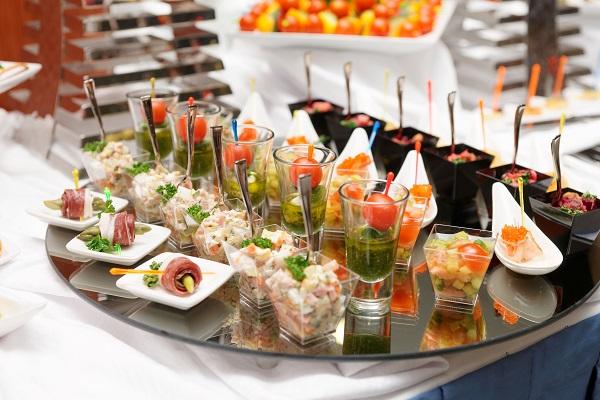 Un buffet réalisé par LCDM